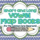 This download includes 10 interactive short and long vowel flap books aligned to Common Core! Students cut, sort, and paste the words into their flap books by distinguishing the vowel sounds! These are wonderful {and easy} to use as independent work, centers, small group lessons, homework, and formative assessments.