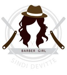 Logo da Barber Girl Sindi DeVitte