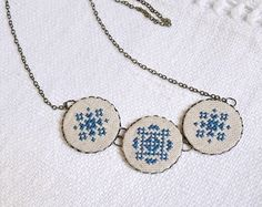 necklace # handmade # embroidery # jewelry
