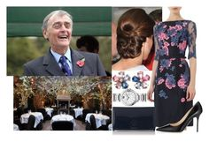 """""""Having lunch with her godfather Gerald Grosvenor, 6th Duke of Westminster at the Ivy"""" by victoriawindsor ❤ liked on Polyvore featuring Cartier, Erdem, L.K.Bennett and Jimmy Choo"""