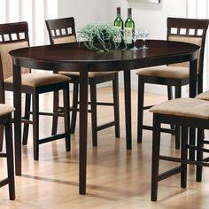 100208 - Mix & Match Oval Counter Height Dining Table | *buy, sell, trade, Furniture @ Barter Post SALE Price $