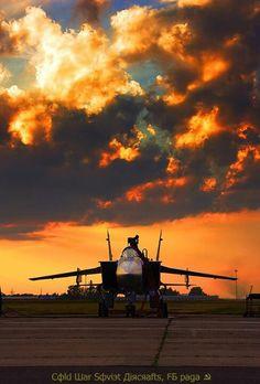 MiG 31 Awesome pose