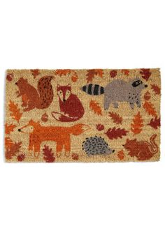 First and Forest Doormat, #ModCloth