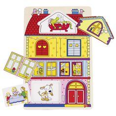 Puzzle de imagen de fondo, nuestra casa: 9,95€. Más info aquí: http://eldesvandesarah.es/ds/producto/puzzle-de-imagen-de-fondo-nuestra-casa/