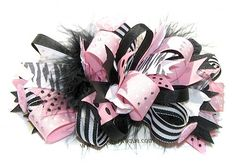 Making bows for hair crafty-tutorials
