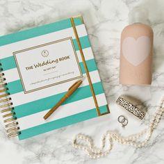 Keepsake Wedding Planner Book Monogrammed By LucySuiSF