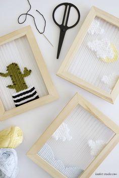 שתי וערב - פוסט חדש בבלוג weaving pictures from BeeBlog