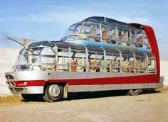 Citroen made this double deck bus in the 1950s for Paris tour operator, Groupe Cityrama.