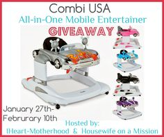 Combi All-in-One Mobile Entertainer Giveaway – ends 2/10