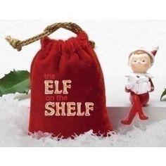 Baby Elf on the Shelf in Bag - Children, Cartoons, & Characters