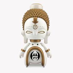 White Buddha Doll