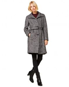 Shop Jacquard coat Dark Gray for Coats at the official United Colors of Benetton online shop.