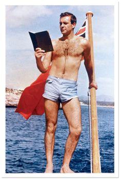 Photos: 50 Years of James Bond on Film | Vanity Fair | Connery on the set of Thunderball, 1965
