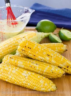 """Grilled Corn on the Cob #Corn """"Pin & Win"""" on http://www.sunshinesweetcorn.com/home/livin-the-sweet-life-pinterest-contest/"""