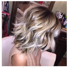 This is about my style now. I don\'t want quite so light or bright, but would be happy with something like this in my ashy colors.