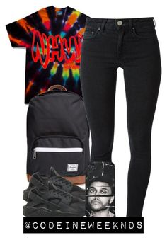 """""""9:4:15"""" by codeineweeknds ❤ liked on Polyvore featuring Herschel Supply Co., Acne Studios and NIKE"""