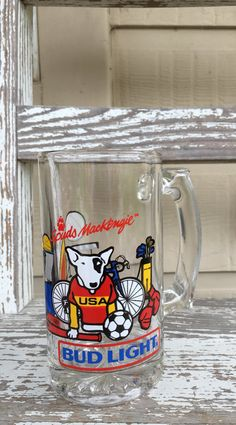 Hey, I found this really awesome Etsy listing at https://www.etsy.com/listing/293519541/vintage-spuds-mackenzie-bud-light-mug