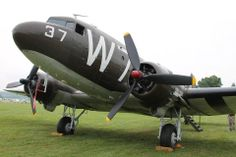 C-47/DAKOTA W7 ( Whiskey 7 ) plane flew over Normandy on D-Day and dropped paratroopers over St. Mere-Eglise