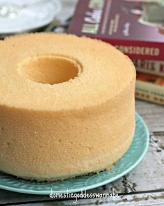 Rice Flour Soy Milk Chiffon Cake