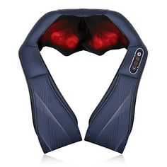 Naipo Shiatsu Back and Neck Massager with Heat Deep Kneading Massage for Neck, Back, Shoulder, Foot and Legs, Use at ...