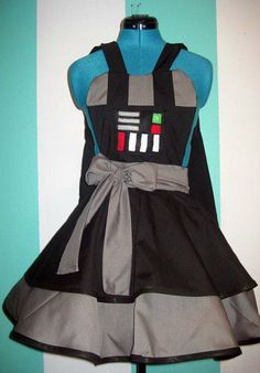 10 Cool and Creative Aprons for Geeks - TechEBlog
