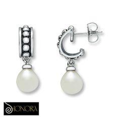 Sterling Silver Honora™ Cultured Freshwater Pearl Earrings