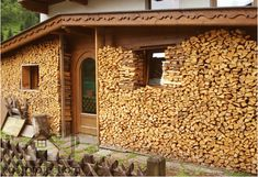 How to store firewood in the winter