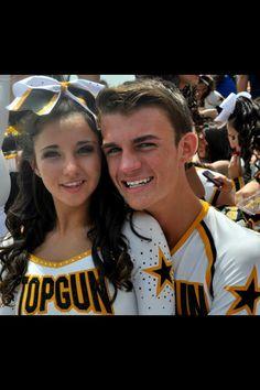 Megan Glisson Top Gun Cheerleading