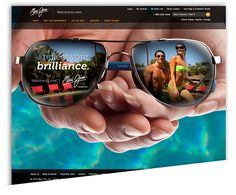 A Sunny Day for a Sunglasses Company Courtesy of Magento