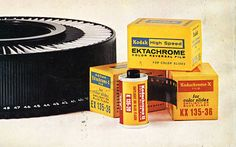 Kodak announced today that it has decided to discontinue its color reversal (AKA slide) films due to a steady decrease in sales and usage. The films discontinued are Ektachrome E100G/E100VS and Elite Chrome Extra Color 100.     Better hit up the Amazon...