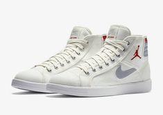 ae4228446b87 Aha Beautiful Shoes · Chaussures De Course 2017 Jordan Sky High OG Sail  Wolf Grey University Rouge Red 819953