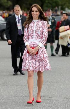 Kate Middleton en Canadá