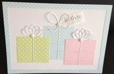 Memory Box - Crisp Bows, First Edition - 6 x 6 Paper Pack - Floral Pavilion,  Craftwork Cards Tiny Sentiments, Woodware 5mm Glitter Domes