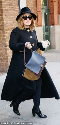 Another busy day:Adele has had a jam-packed schedule while in New York, appearing on major shows like Saturday Night Live and Jimmy Fallon as well as performing a sold-out gig at Radio City Music Hall