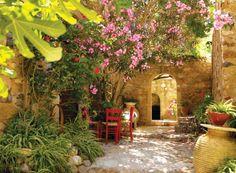 Mediterraner Garten M Rchenhafte Atmosph Re Schaffen