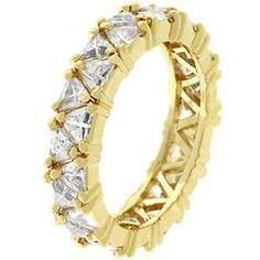Golden Trillion Fashionista Ring #womensfashion #jewellery #jewelry #ring #jewelryring #womensring #womensjewelry  #engagementring #goldring