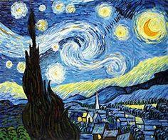 Vincent van Gogh – Starry Night (1889)