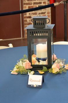 My BAC wedding- same lanterns from your pin.