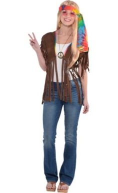 peace signs gifs | Adult Hippie Costume - Party City