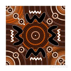 Illustration about A illustration based on aboriginal style of dot painting depicting difference. Illustration of life, spot, circle - 30745829 Aboriginal Dot Art, Aboriginal Painting, River Painting, Dot Painting, Art Deco Cards, Free Stock, Square Canvas, Modern Art Paintings, Indigenous Art