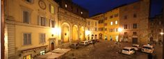 Hotel la Perla- Siena; not fancy but clean and in a great location