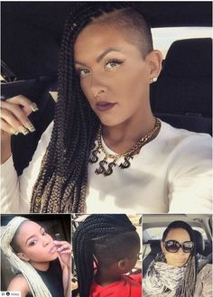 All styles of box braids to sublimate her hair afro On long box braids, everything is allowed! For fans of all kinds of buns, Afro braids in XXL bun bun work as well as the low glamorous bun Zoe Kravitz. Box Braids Hairstyles, Box Braids Updo, Blonde Box Braids, Bob Braids, Try On Hairstyles, Box Braids Styling, Trending Hairstyles, Black Women Hairstyles, Ghana Braids