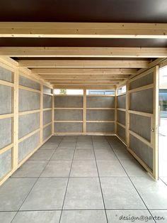 Carport Garage, Garage Doors, Bungalow Hotel, Pub Interior, Carport Designs, Bike Storage, Diy Shed, Design Case, Deck Design