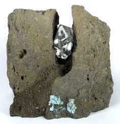 Herkimer Diamond in Dolomite