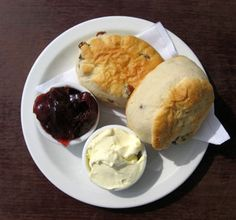 Can't beat these. At 3pm, the Cream Teas come out in Cornwall. Every day.