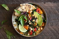 Coconut Curry Lentil Bowl