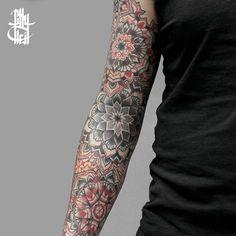 Mandala tattoo arts by Billy Heil : Best_tattoos