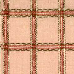 Tela de patchwork rosa con cuadros formado con hilo marrón, blanco y rosa oscuro. 120 cm de ancho. Algodón 100 % de alta calidad ideal para trabajos ...