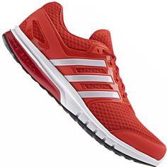 7f6bfff15a2 Tênis Adidas Galaxy Elite Masculino Vermelho   Laranja