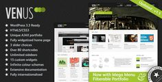 See More Venus: Business & Portfolio WordPress Themewe are given they also recommend where is the best to buy